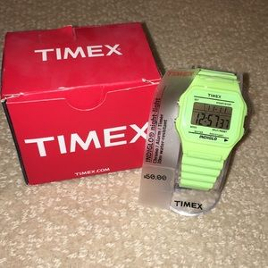 NEW Retro Timex Indiglo Rubber Watch